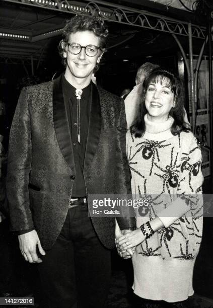 Judge Reinhold and Carrie Frazier at the Premiere of 'Pretty In Pink' Mann Chinese Theater Hollywood