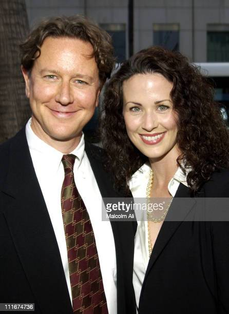 Judge Reinhold and wife Amy during 'Bobby Jones Stroke of Genius' Los Angeles Premiere at Academy of Motion Picture Arts and Sciences in Beverly...