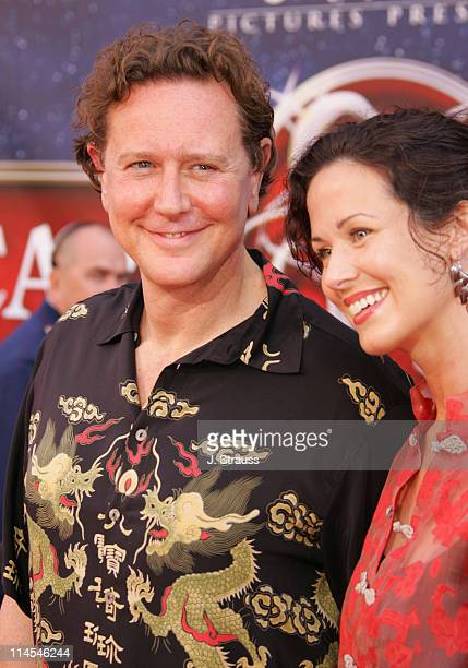 Judge Reinhold and wife Amy during 'The Santa Clause 3 The Escape Clause' Los Angeles Premiere Arrivals at El Capitan in Hollywood California United...