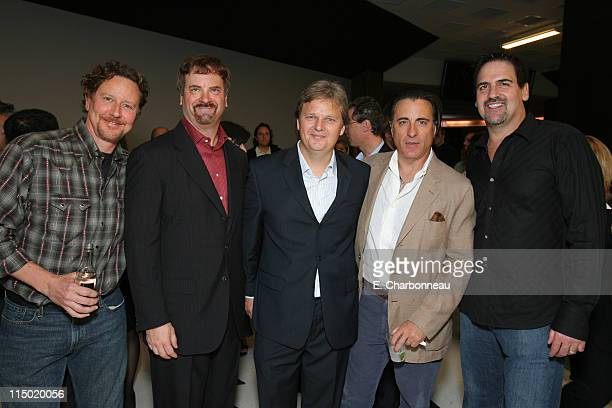 Judge Reinhold Wagner/Cuban's Todd Wagner Landmark's Bill Banowsky Andy Garcia and Wagner/Cuban's Mark Cuban