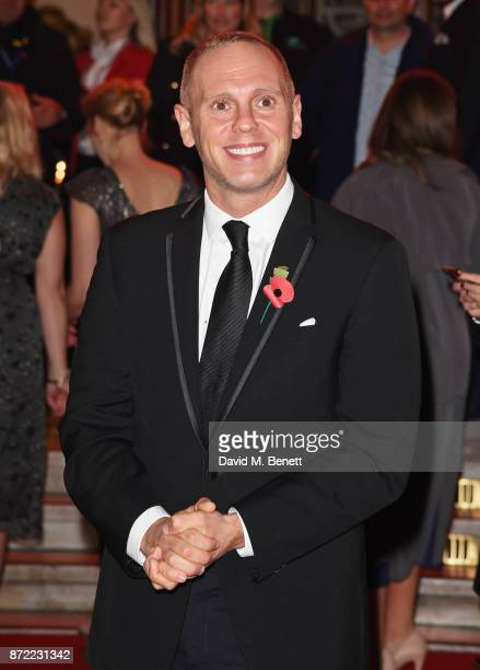 Judge Rinder attends the ITV Gala held at the London Palladium on November 9 2017 in London England
