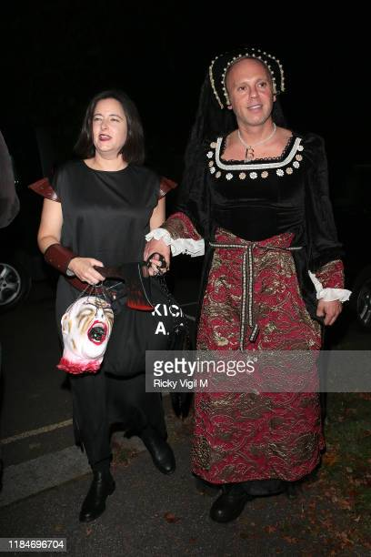 Judge Rinder seen attending Jonathan Ross - Halloween party on October 31, 2019 in London, England.