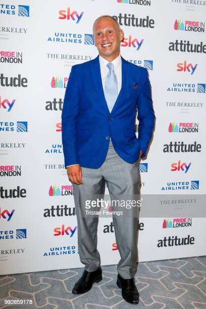 Judge Robert Rinder attends the Attitude Pride Awards 2018 at The Berkeley Hotel on July 6 2018 in London England