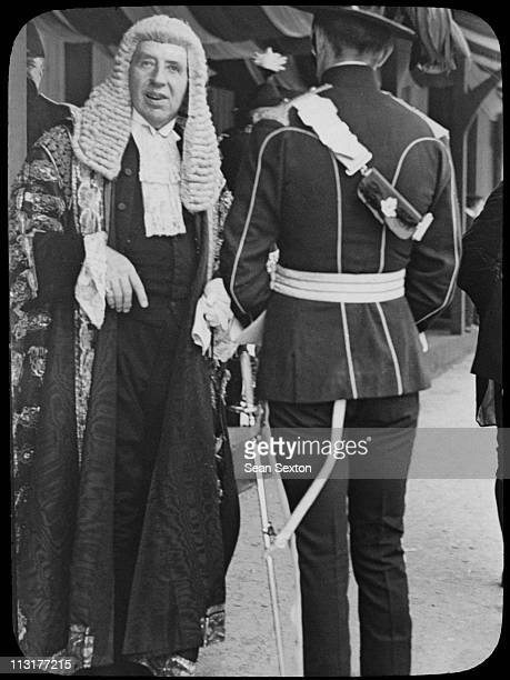 Judge Ross attends a Levee at Dublin Castle during a visit to Ireland by King George V and Queen Mary July 1911