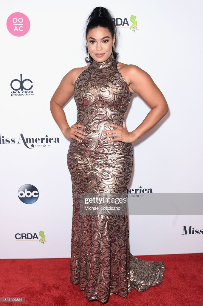 Judge, Singer Jordin Sparks attends the 2018 Miss America Competition Red Carpet at Boardwalk Hall Arena on September 10, 2017 in Atlantic City, New Jersey.