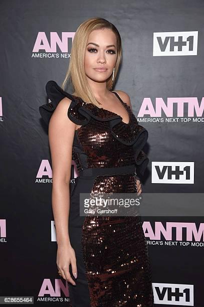 ANTM judge singer Rita Ora attends VH1's 'America's Next Top Model' premiere at Vandal on December 8 2016 in New York City