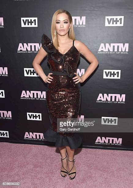 ANTM judge singer Rita Ora attends VH1's 'America's Next Top Model' premiere at Vandal on December 8 2016 in New York City