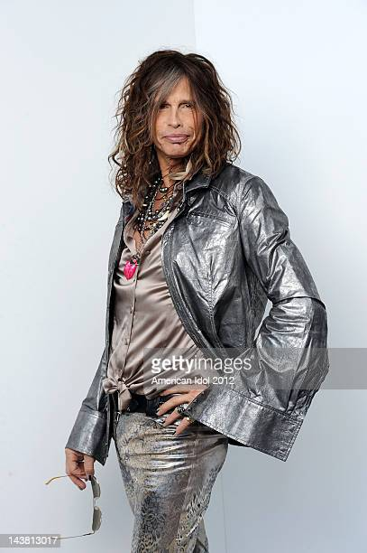 Judge Steven Tyler backstage at FOX's American Idol Season 11 Top 5 to 4 Live Elimination Show on May 3, 2012 in Hollywood, California.