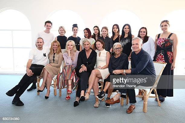 Judges and finalists pose during the Australian Fashion Foundation Awards 2016/17 on December 19, 2016 in Sydney, Australia.