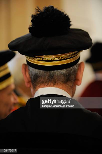 Judges and magistrates prior the opening of the judicial year ceremony on January 28 2011 in Rome Italy Parliament has recently passed legislation to...