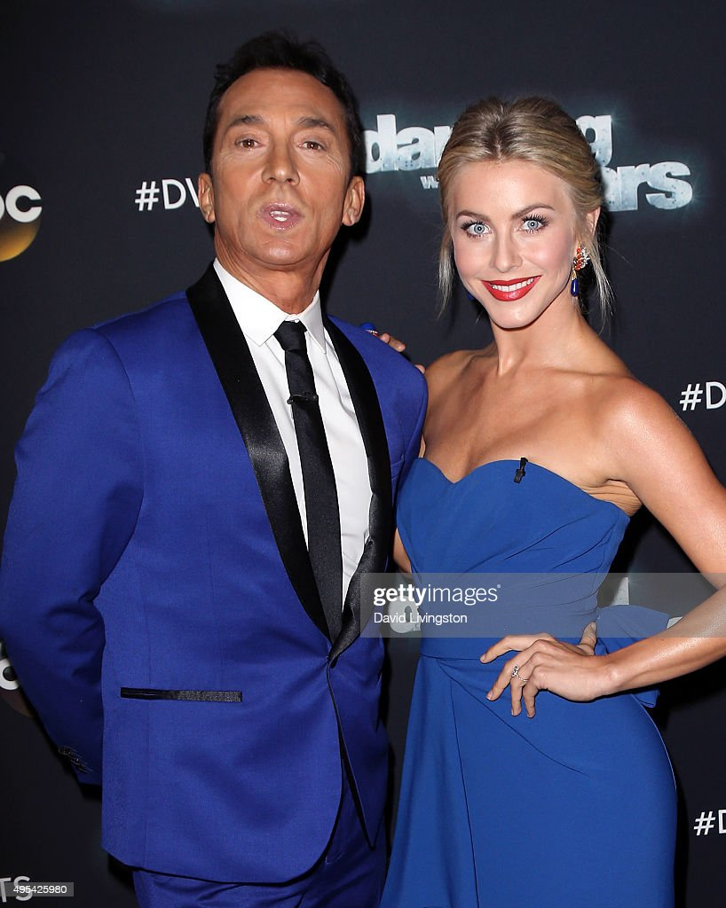 Dwts Judges Bruno Tonioli And Julianne Hough Attend Dancing With
