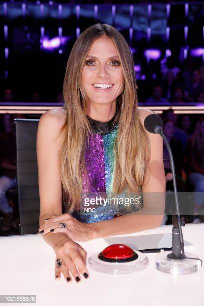 S GOT TALENT 'Judge's Cuts 1' Episode 1307 Pictured Heidi Klum