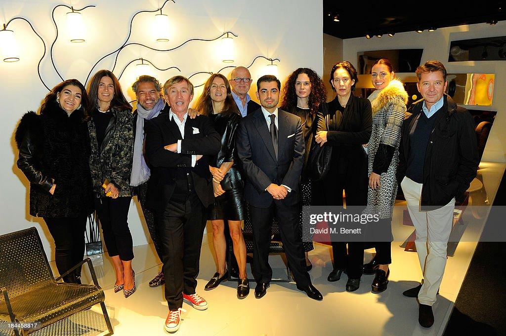 PAD London Art + Design Fair - Moet Hennessy London Prize Jury Visit