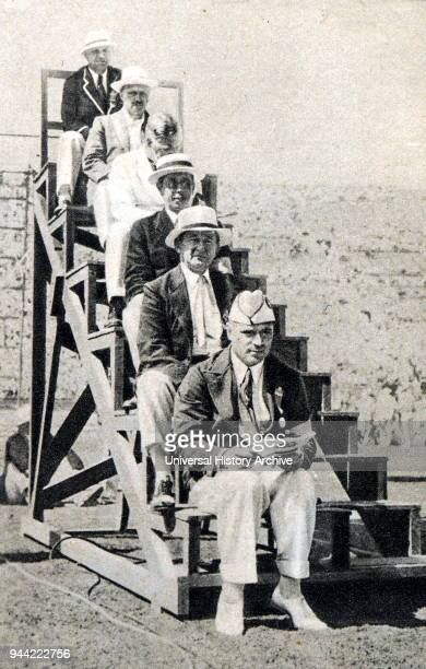 Judges for the 1932 Los Angeles Olympic. Dated 20th Century.
