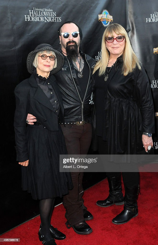 Judges from SyFy's 'Face Off' Lois Burwell, Glenn Hetrick and Ve Neill arrives for Universal Studios Hollywood 'Halloween Horror Nights' Kick Off With The Annual 'Eyegore Awards' held at Universal Studios Hollywood on September 19, 2014 in Universal City, California.