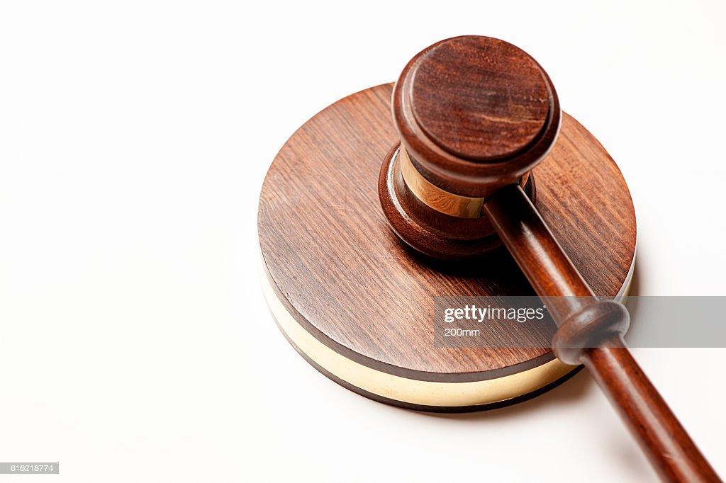 Judges gavel : Bildbanksbilder