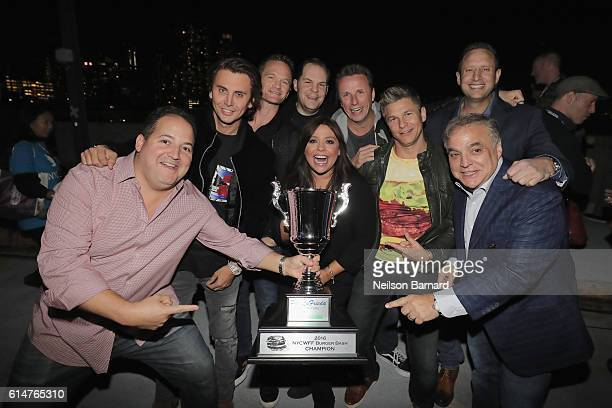 Judges Josh Capon Jonathan Cheban Neil Patrick Harris Rachael Ray Judges Marc Murphy and David Burka and New York City Wine Food Festival Founder...