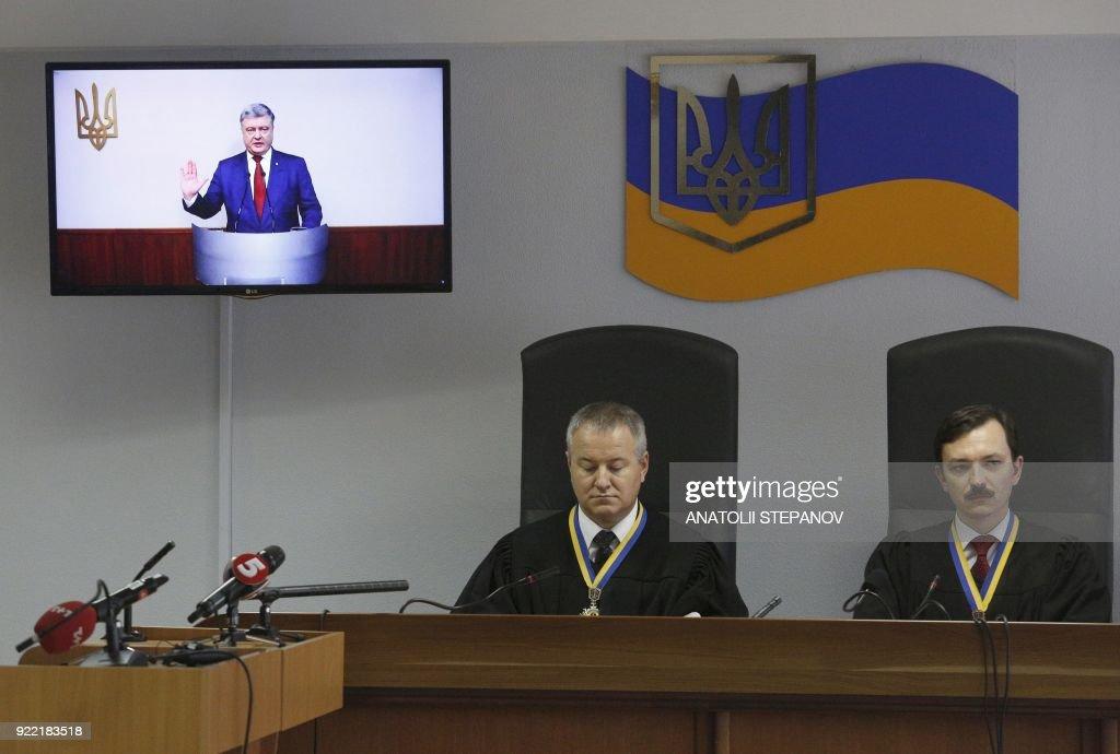 UKRAINE-POLITICS-JUSTICE : News Photo