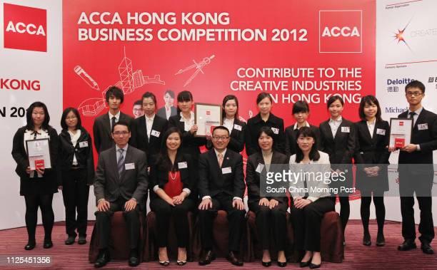 Judges Mark Yeung Serena Tang William Mak Jenny Tsang and Alice Cheng and winners Cream Wu Yanting Kogi Kou Wingtung Pluto Kwok Waichun Yoyo Lo...
