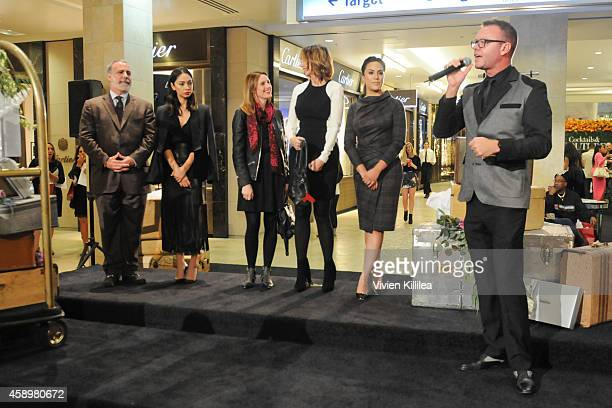 Judges Neiman Marcus Topanga Vice PresidentÊand General Manager Bob Lugari Celebrity Stylist Monica Rose Who What Wear Director of Affiliate...