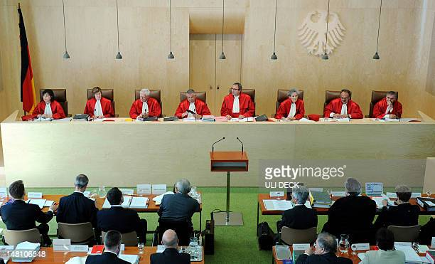 Judges of the Second Senate at the Federal Constitutional Court of Germany Sibylle KessalWulf Monika Hermanns Michael Gerhardt Peter Huber Andreas...
