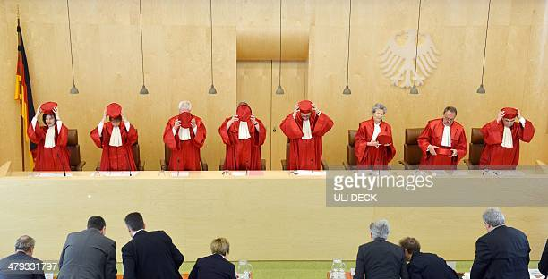 Judges of the Second Senate of the Federal Constitutional Court of Germany Sibylle KessalWulf Monika Hermanns Michael Gerhardt Peter Huber Andreas...
