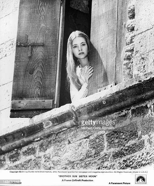 Judi Bowker seeks a new and better world in a scene from the film 'Brother Sun Sister Moon' 1972
