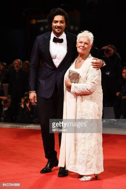 Judi Dench and Ali Fazal walk the red carpet ahead of the 'Victoria Abdul' screening And JaegerLeCoultre Glory To The Filmaker Award 2017 during the...