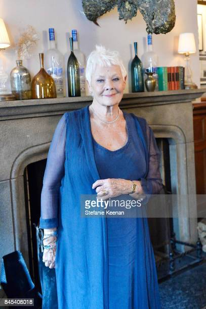 Judi Dench at Focus Features' VICTORIA ABDUL premiere party hosted by GREY Vodka and Soho House on September 10 2017 in Toronto Canada