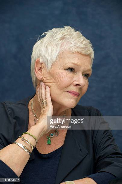 Judi Dench at the 'Nine' press conference at the Waldorf Astoria Hotel on November 14 2009 in New York New York