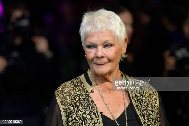 Judi Dench attends the 'Red Joan' premiere and Golden Icon Award during the 14th Zurich Film Festival at Festival Centre on October 03 2018 in Zurich...