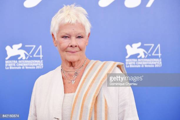 Judi Dench attends the 'Victoria & Abdul And Jaeger-LeCoultre Glory To The Filmaker Award 2017' photocall during the 74th Venice Film Festival at...