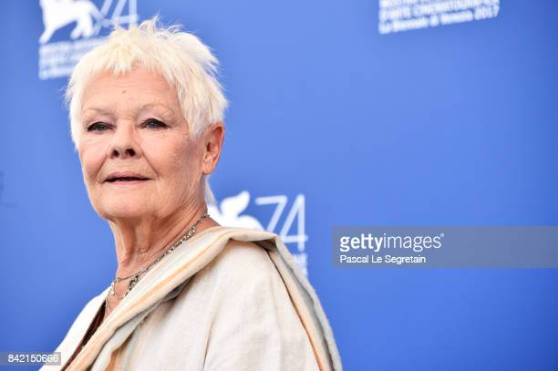 Judi Dench attends the 'Victoria Abdul And JaegerLeCoultre Glory To The Filmaker Award 2017' photocall during the 74th Venice Film Festival at Sala...