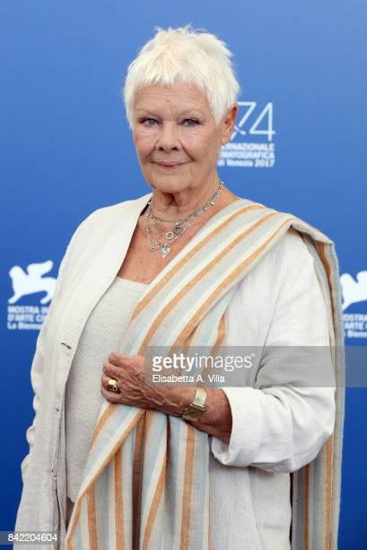 Judi Dench attends the 'Victoria & Abdul And Jaeger-LeCoultre Glory To The Filmaker Award 2017' Cinema photocall during the 74th Venice Film Festival...