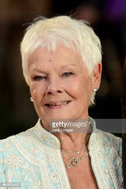 Judi Dench attends the Victoria Abdul UK premiere at Odeon Leicester Square on September 5 2017 in London England