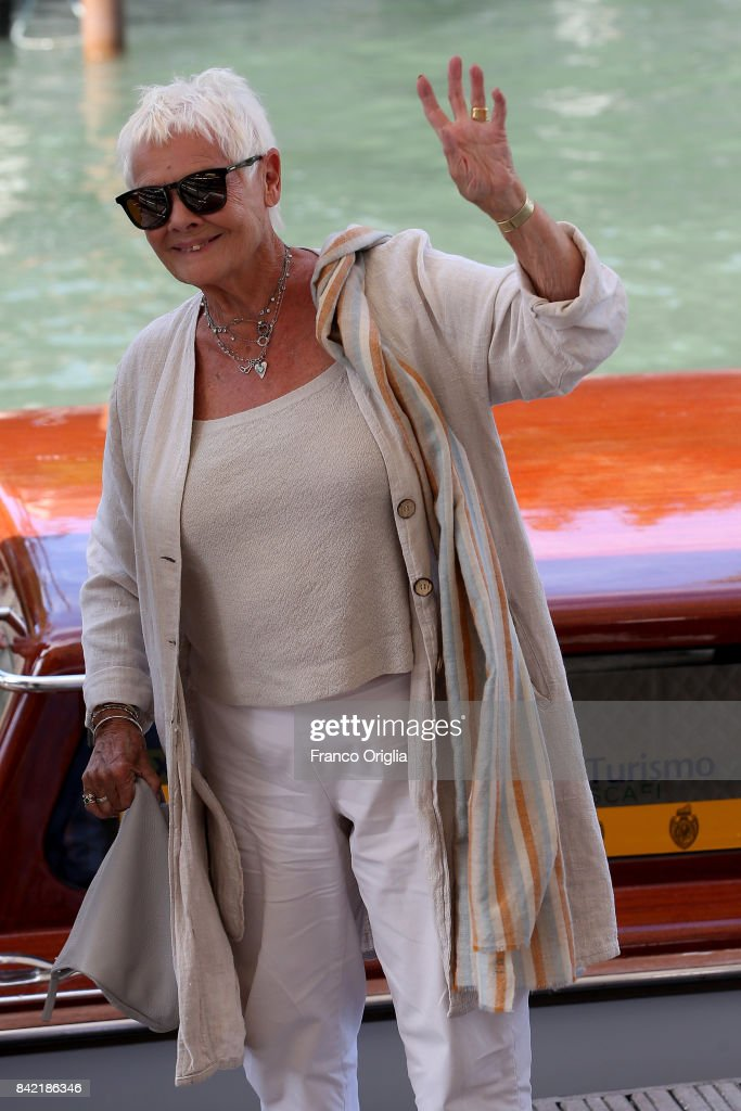Judi Dench during the 74th Venice Film Festival on September 3, 2017 in Venice, Italy.