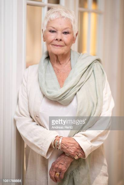 Judi Dench poses at the 'Red Joan' portrait session during the 14th Zurich Film Festival on October 04 2018 in Zurich Switzerland