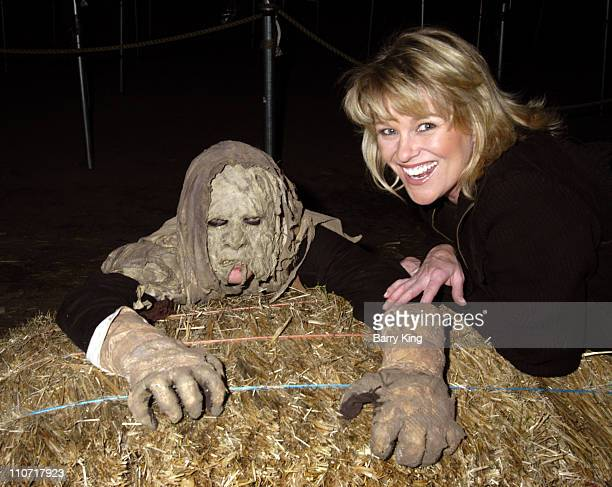 Judi Evans during Judi Evans of Days of Our Lives Visits The Haunted Vineyard October 25 2005 at The Haunted Vineyard in Ontario California United...