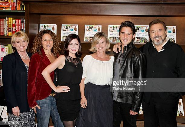 Judi Evans Meredith Scott Lynn Jen Lilley Mary Beth Evans Casey Moss and Joseph Mascolo attend the 'Days Of Our Lives' cast member book signing for...