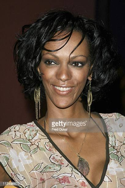Judi Shekoni during 'Hell's Kitchen' Day 7 Arrivals at 146 Brick Lane in London Great Britain