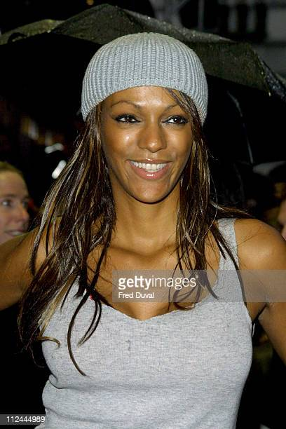 Judi Shekoni during 'The Matrix Reloaded' London Premiere at Odeon Leicester Square in London Great Britain