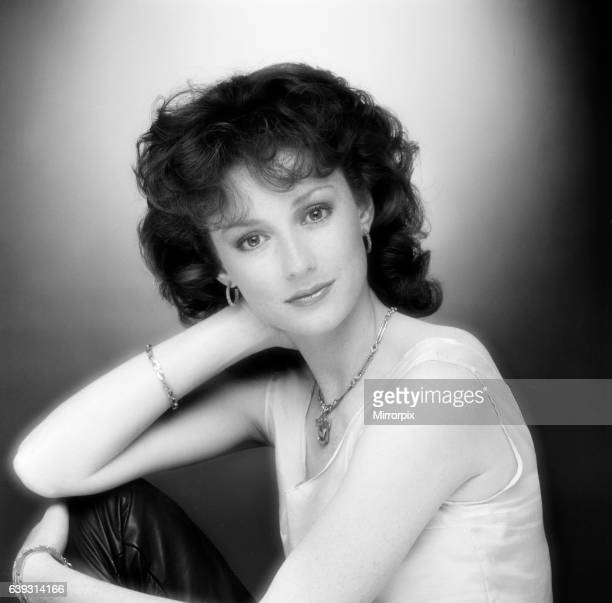 Judi Trott actress who stars as Lady Marian in Robin of Sherwood a HTV Production Studio Pix 14th May 1984