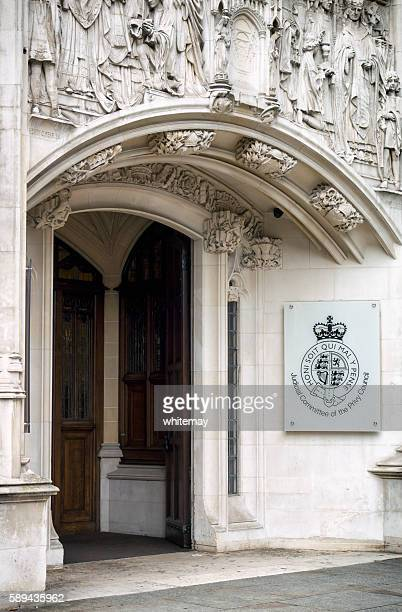 Judicial Committee of The Privy Council doorway, London
