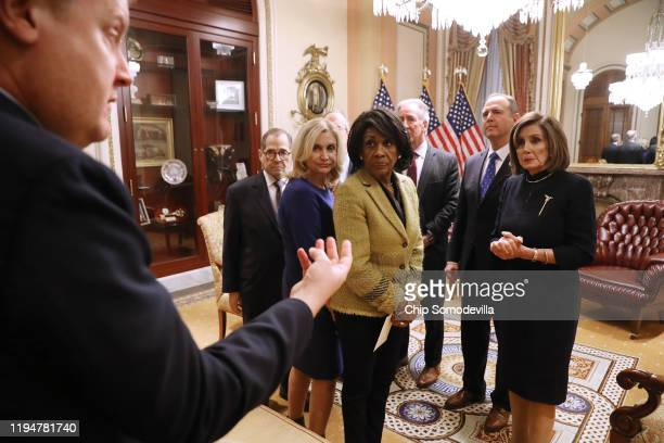 Judiciary Committee Chairman Jerry Nadler , Oversight and Government Reform Chair Carolyn Maloney , Financial Services Chair Maxine Waters , Ways and...