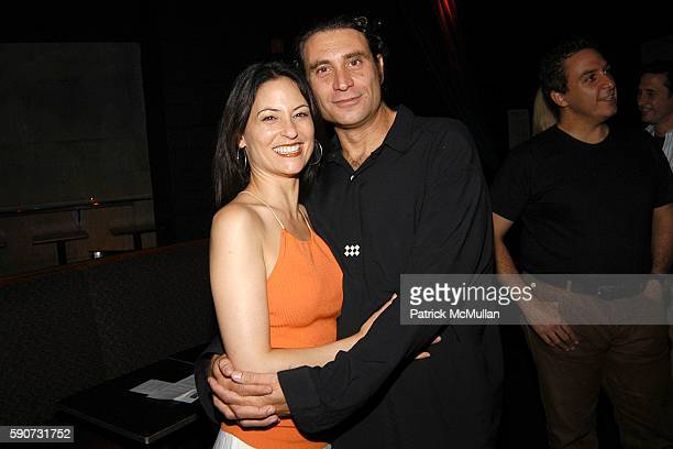 Judie Aronson and Paul Provenza attend The Aristocrats Screening and After Party at Carolines Comedy Club at Carolines on July 26 2005 in New York...