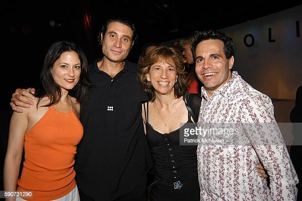 Judie Aronson Paul Provenza Robin Bronk and Mario Cantone attend The Aristocrats Screening and After Party at Carolines Comedy Club at Carolines on...