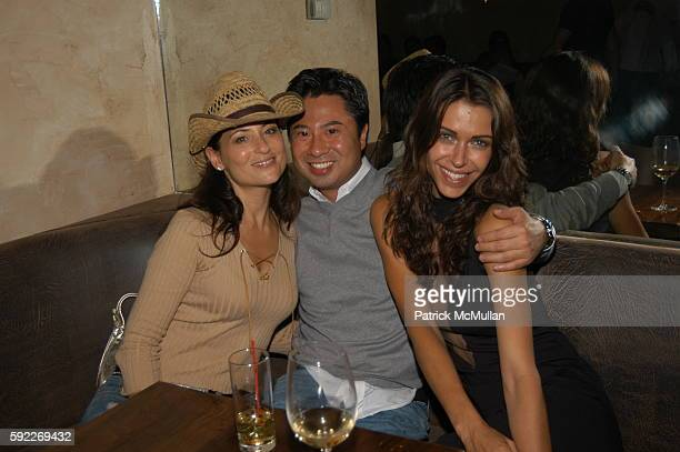 Judie Aronson Simon Cho and Marianne Trudeo attend Opening of LOFT at Loft on September 26 2005 in New York City
