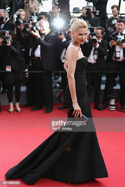 Judit Masco attends 'The Homesman' premiere during the 67th Annual Cannes Film Festival on May 18 2014 in Cannes France