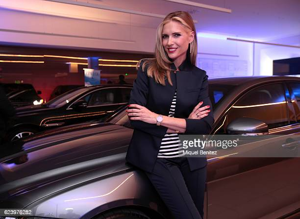 Judit Masco attends the Jaguar Land Rover's Donnay Space inaguration on November 17 2016 in Barcelona Spain