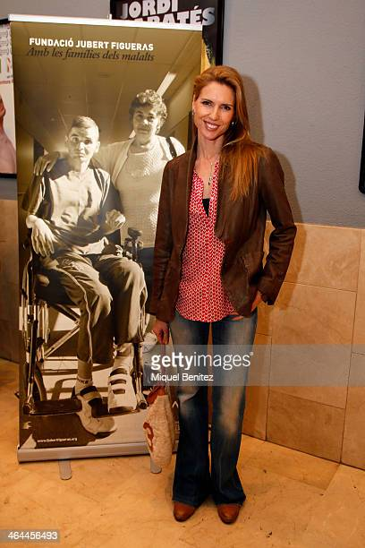 Judit Masco attends the shortfilm presentation of 'El Simbolo y el Cuate' at the Girona Cinema on January 22 2014 in Barcelona Spain